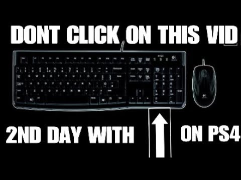 Keyboard And Mouse On PS4 (Dont click on this...) Fortnite battle royale 2ND DAY WITH keyboard and m