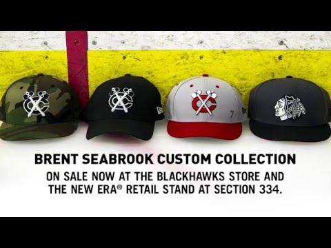 5a57a853009 Brent Seabrook New Era Caps - YouTube