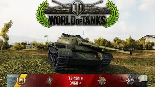 World of Tanks - T54 LTW - 17k spotting Damage - HowTo win in 4mins [Replay|HD]