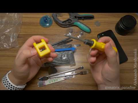 Большой набор инструмента для разборки и ремонта смартфонов, ноутбуков и мелкой электроники!