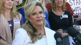 Kayla Moore  My husband will not step down