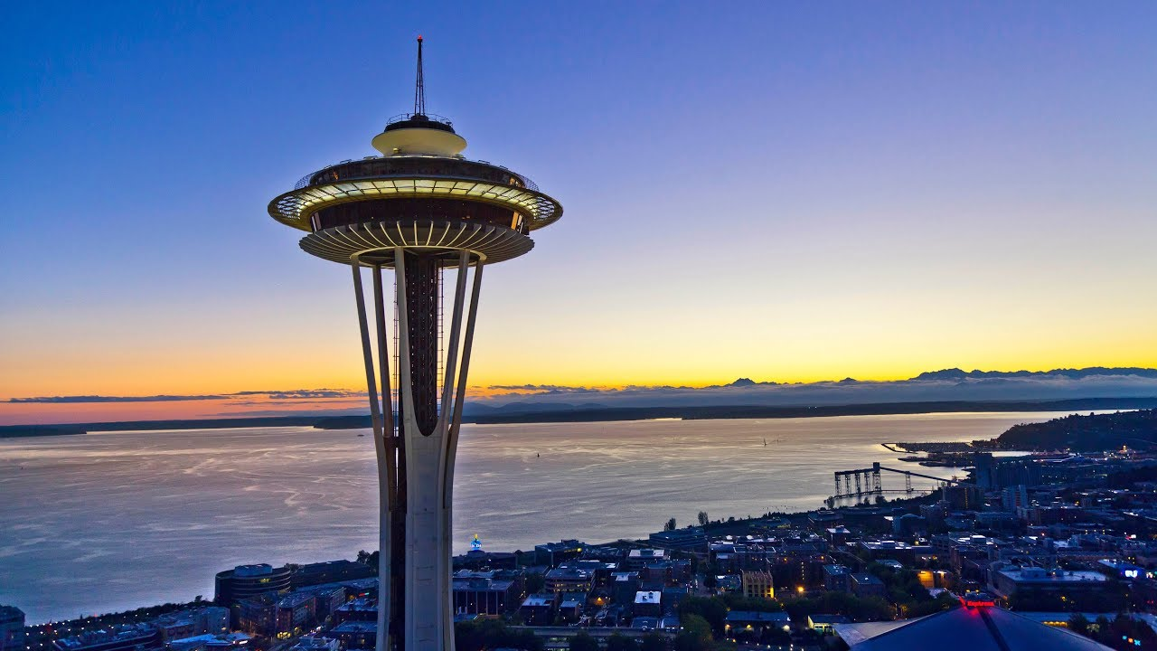 Seattle Space Needle Observation Deck Admission Ticket 2020