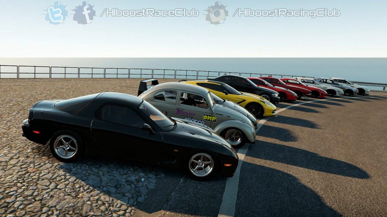 RX7 Build | Street Car Meet, Cruise, & Airstrip Roll Racing - YouTube