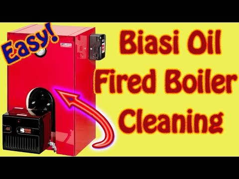 How to Clean a Biasi B4 B10 Series Boiler Basic Boiler Maintenance Part 5