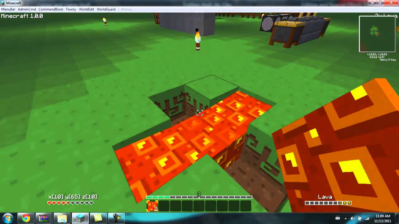 Minecraft: How To Get Infinite Lava Source 1.0.0 (MOD
