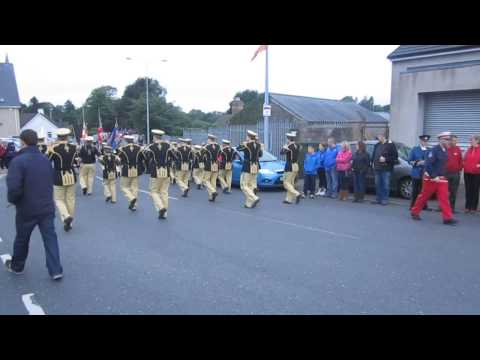 South Fermanagh Loyalist Flute Band @ Brookeborough 2013.