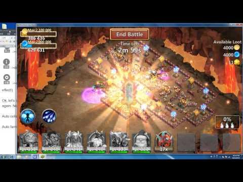 Castle Clash/Schloss Konflikt/Kale Savaşı Bot - Cchelper - Work On Bluestacks