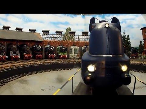 Züge im Maßstab