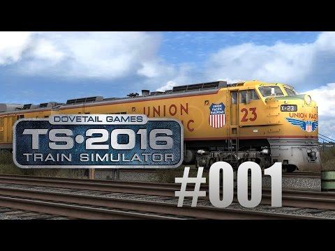 Train Simulator 2016: Union Pacific Railroad mit der Gasturbine #001 - Langsam anfahren!