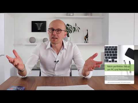 Online Kurs - Mein perfektes Setup am PC und Notebook - Hartmut Sieck
