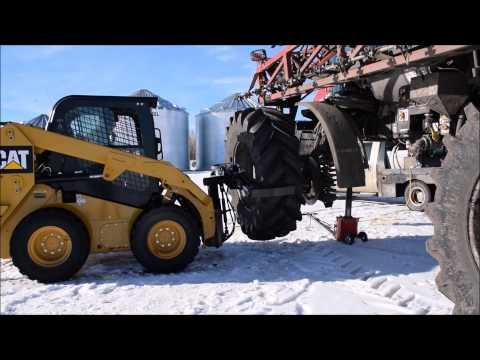 tractor wheel changer doovi