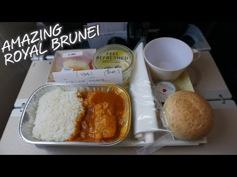 "TERBANG MENGESANKAN NAIK Royal Brunei Airlines ""Economy Class"" 