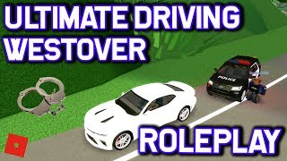 I ALMOST GOT ARRESTED!! || ROBLOX - Ultimate Driving Westover Islands Roleplay