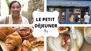 French Bakery Tour + French Breakfast (BETH IN FRANCE 🇫🇷)