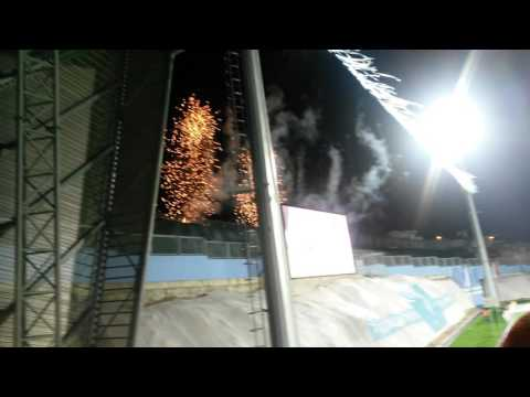 HNK Rijeka 3:0 NK Zagreb win celebration.