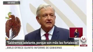 Plan para Reactivacion de  Economia e Informe Trimestral del presidente Andres Manuel Lopez Obrador
