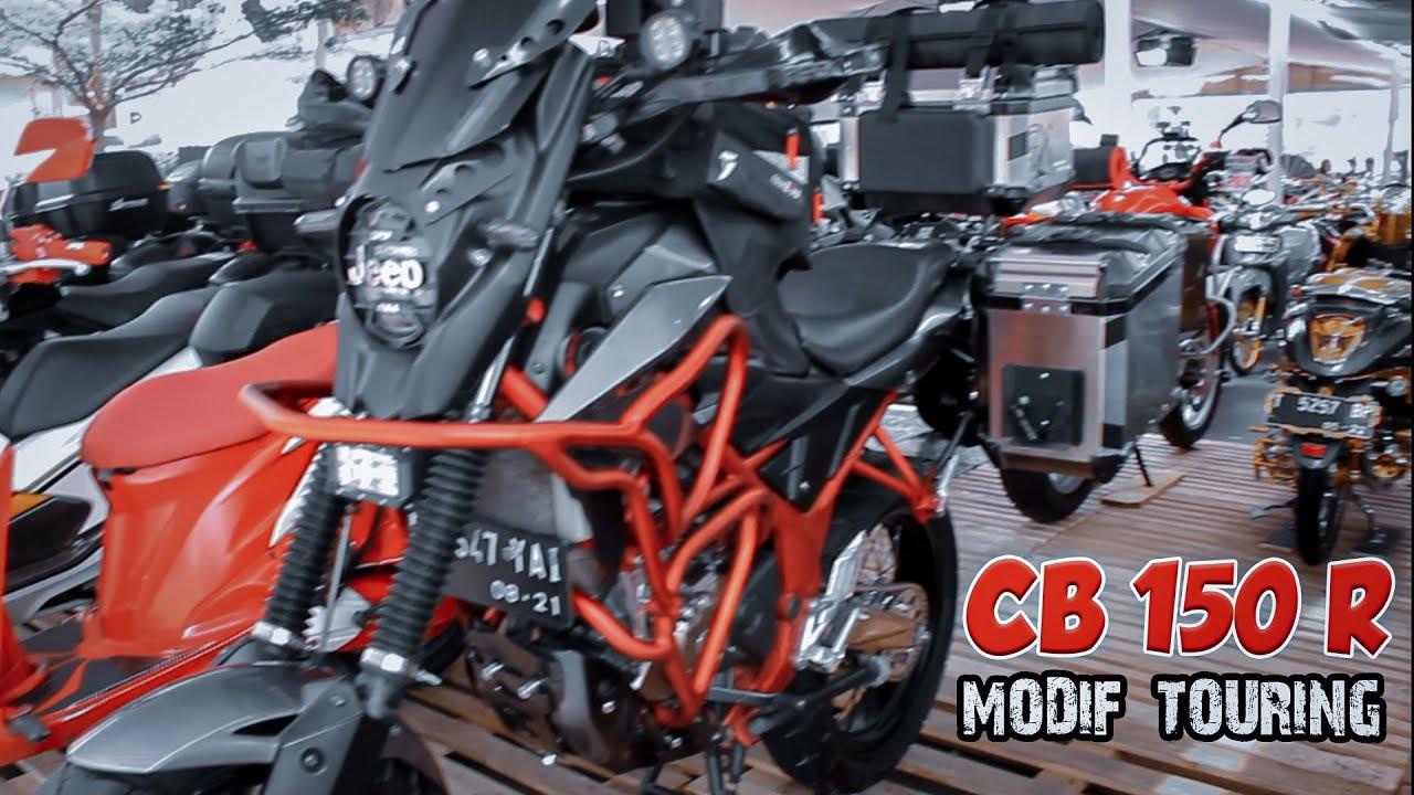 Honda Cb150r Modifikasi Touring Paling Keren Youtube