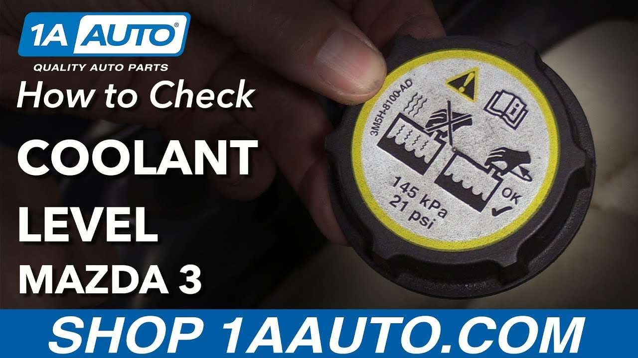 How To Check Antifreeze >> How To Check Coolant Level 2007 Mazda 3 Social Media Video