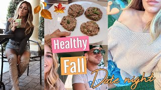 Healthy Fall Date Night // NEW JEWELRY LINE // FALL VLOG 2018
