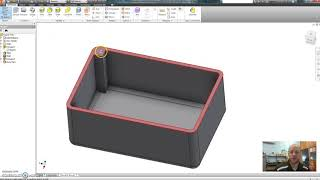 Inventor Tutorial 4 - Updated Box