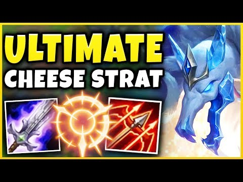 NEW ICE KING TWITCH JUNGLE (ULTIMATE RAGE STRATEGY) THIS ACTUALLY ISN'T FAIR - League of Legends