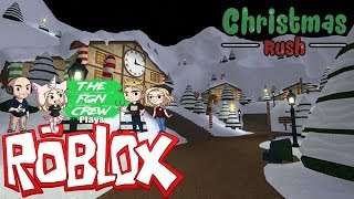 The FGN Crew Plays: ROBLOX - Christmas Rush
