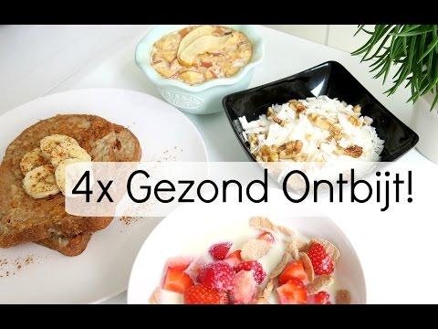4 Recepten voor