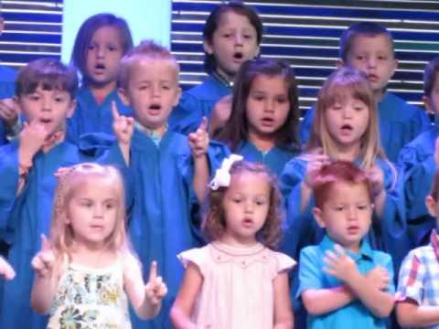 "Cate Singing ""Praise Him, Praise Him All Ye Little Children"""