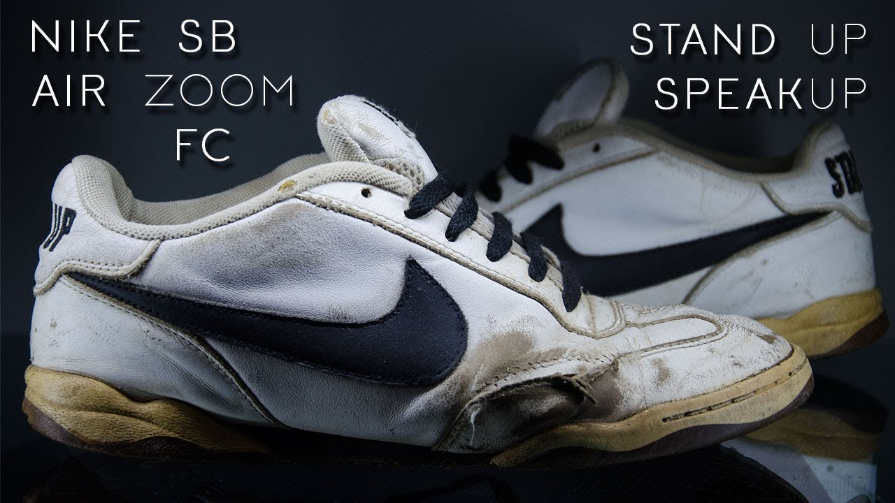 BEHIND THE CREPS E.02 - NIKE SB AIR ZOOM FC STAND UP SPEAK UP