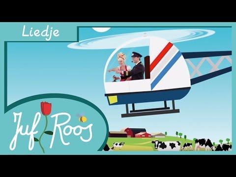 Zing mee met Juf Roos • Helicopter • Liedje