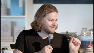 Magnus Nilsson discusses The Nordic Baking Book with The Sportman's Stephen Harris