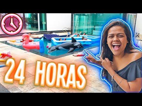24 HORAS NA PISCINA 2 !!!