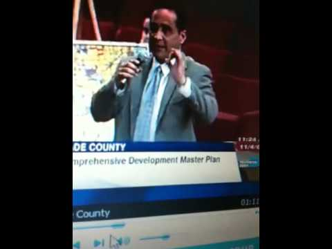 Joe Martinez,  Miami-Dade County Commissioner Part 1