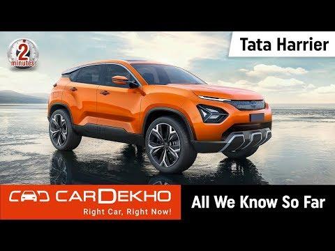 2019 Tata Harrier (aka Tata H5X): All We Know So Far | #In2Mins | CarDekho.com
