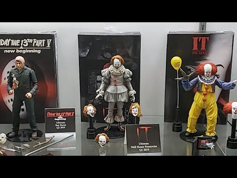 NECA booth At NY TOY FAIR 2019 - LIVE