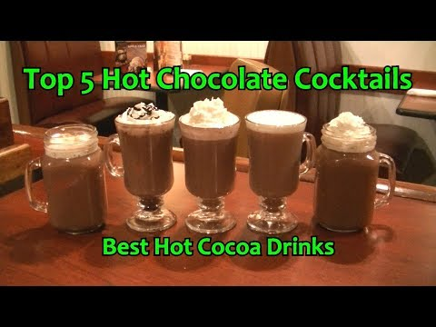 Top 5 Hot Chocolate Cocktails Best Alcohol Hot Cocoa Drinks