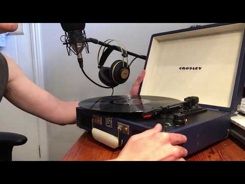 Crosley Record Player Review and Demo