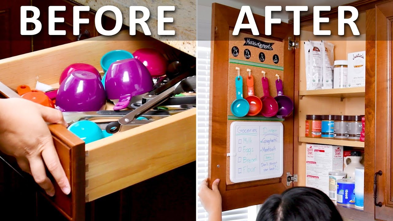 ORGANIZATION HACKS ! Unexpected Kitchen Hacks You Need To Know  DIY Life  Hacks by Blossom