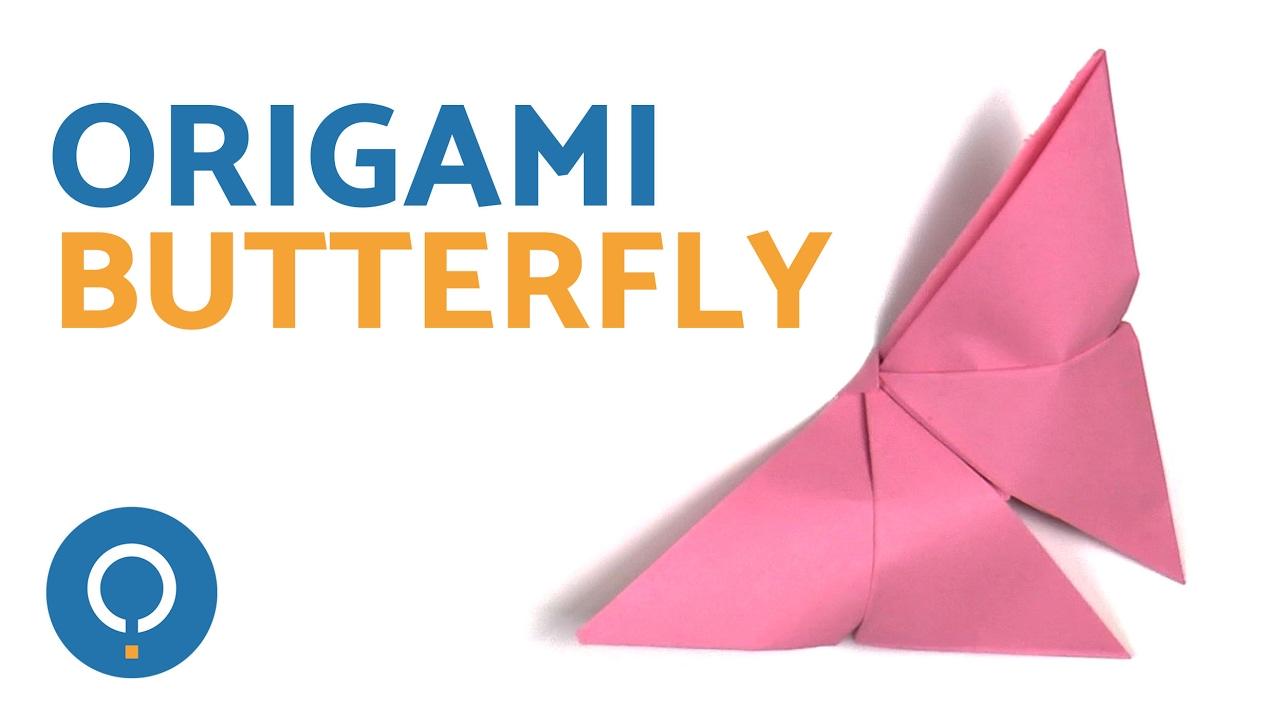 Easy Origami Butterfly Simple Paper Craft Instructions Youtube