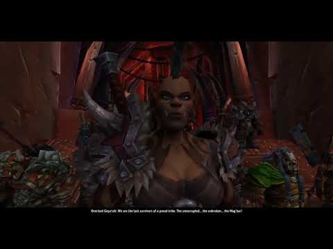 Mag'har Orc Creation And Intro Cinematic