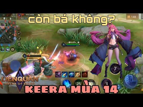 Cách lên đồ Keera mùa 14 - Bảng ngọc, cách chơi Keera đi rừng mạnh nhất liên quân mobile AOV