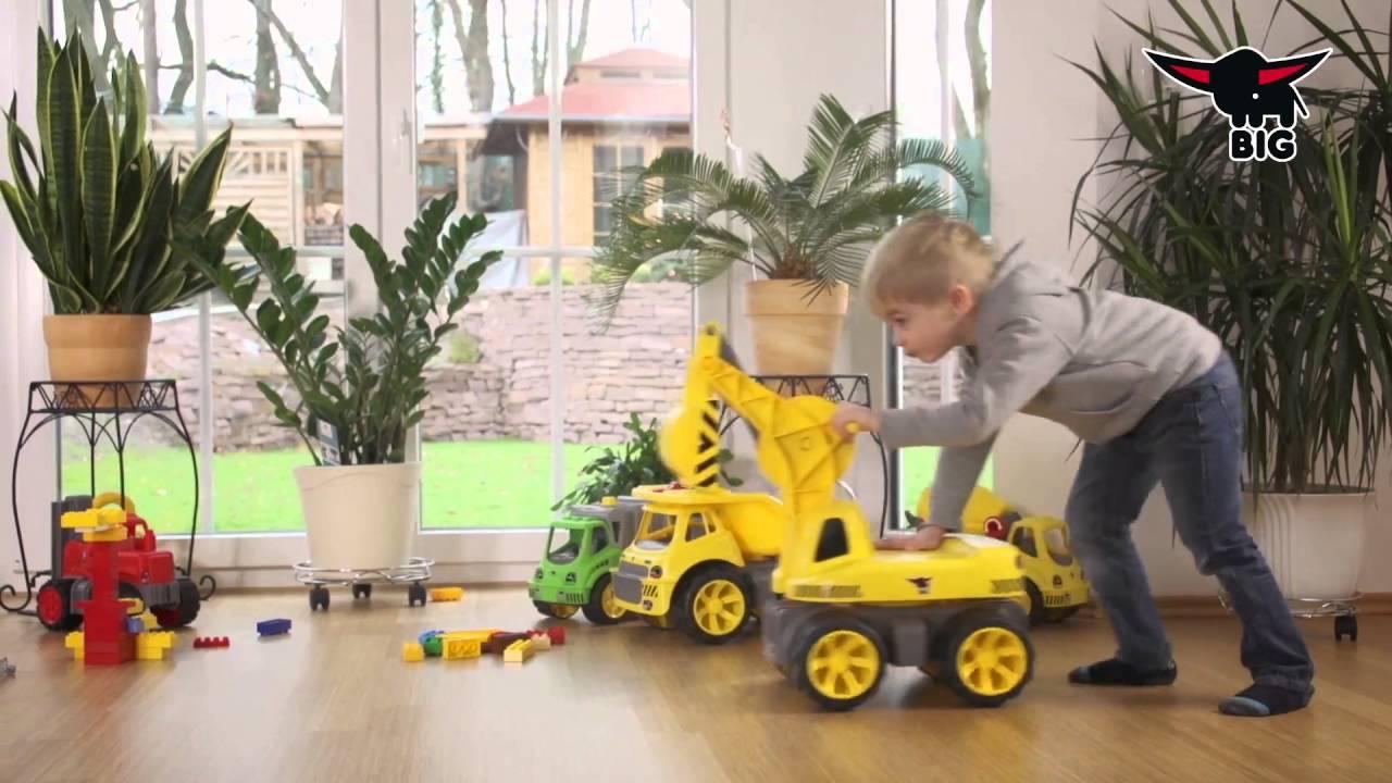 Spielzeugautos NEU BIG-Power-Worker Maxi-Loader