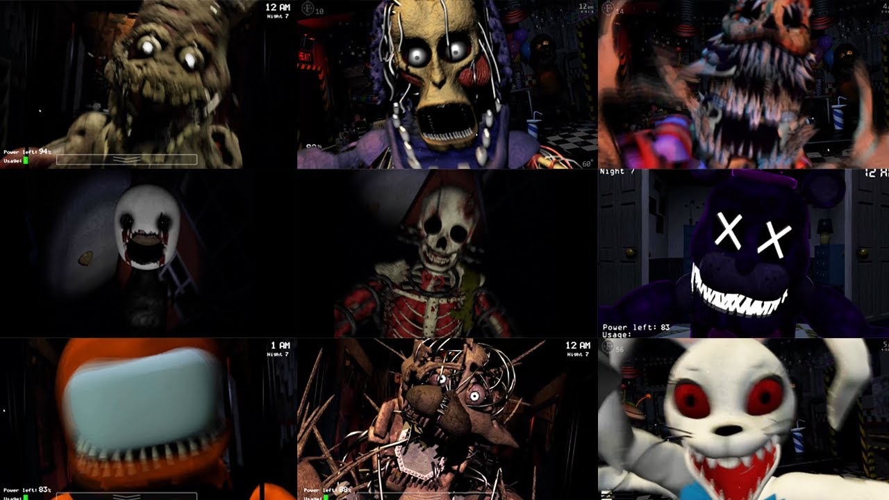 New Scary version of Shadow Freddy! Error 404 Fredbear! (UCN Mods)