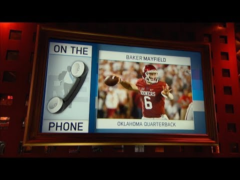 Oklahoma QB Baker Mayfield Talks Planting OU