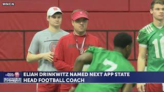 App State names Eliah Drinkwitz new head football coach