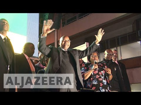 South Africa's President Jacob Zuma survives no-confidence vote