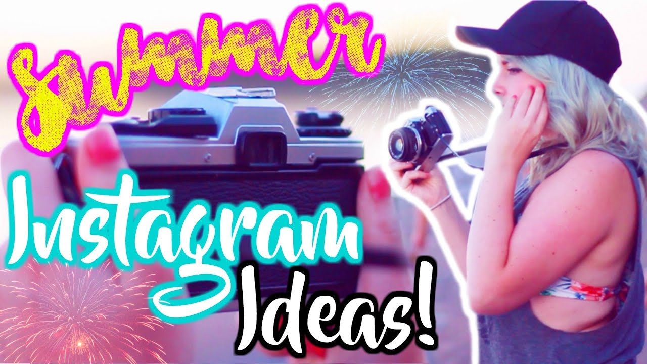 Cute Instagram Photo Ideas For Summer