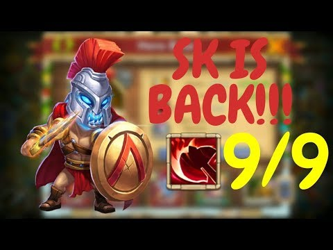SKULL KNIGHT IS BACK!!! I 9/9 Brawler's Favor L Castle Clash