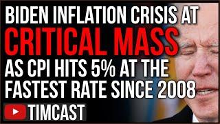 Biden Inflation Crisis Gets WORSE, Prices May Predict MAJOR Market Crash As Democrats KEEP Spending