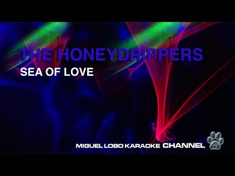 THE HONEYDRIPPERS - SEA OF LOVE - Karaoke Channel Miguel Lobo